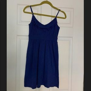 Banana Republic Summer Ruffle Knit Dress
